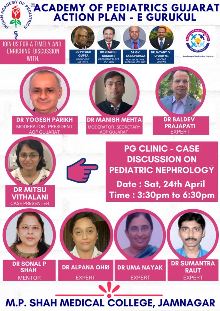 PG CLINIC - CASE DISCUSSION ON PEDIATRIC NEPHROLOGY