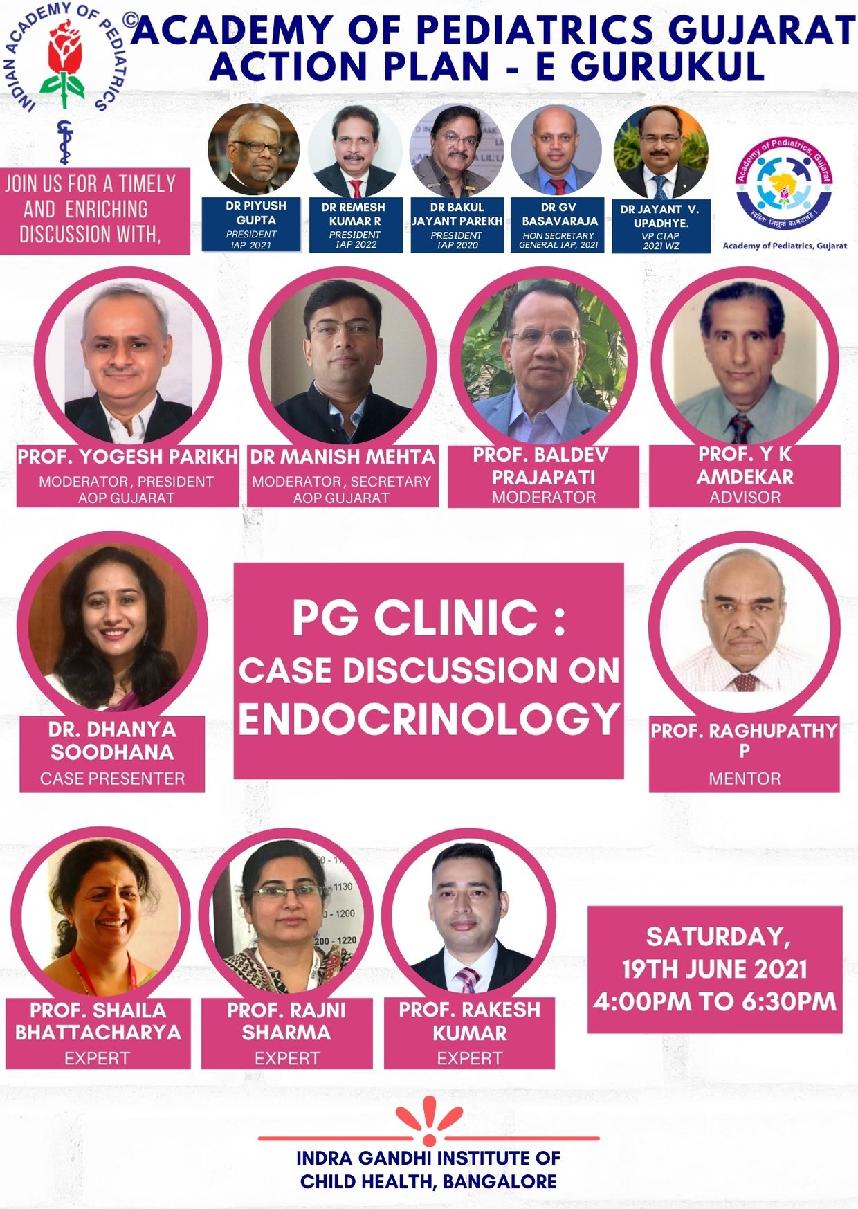 19th-June-AOP-Gujarat-Action-Plan-PG-clinic-Case-Discussion-on-Endocrinology