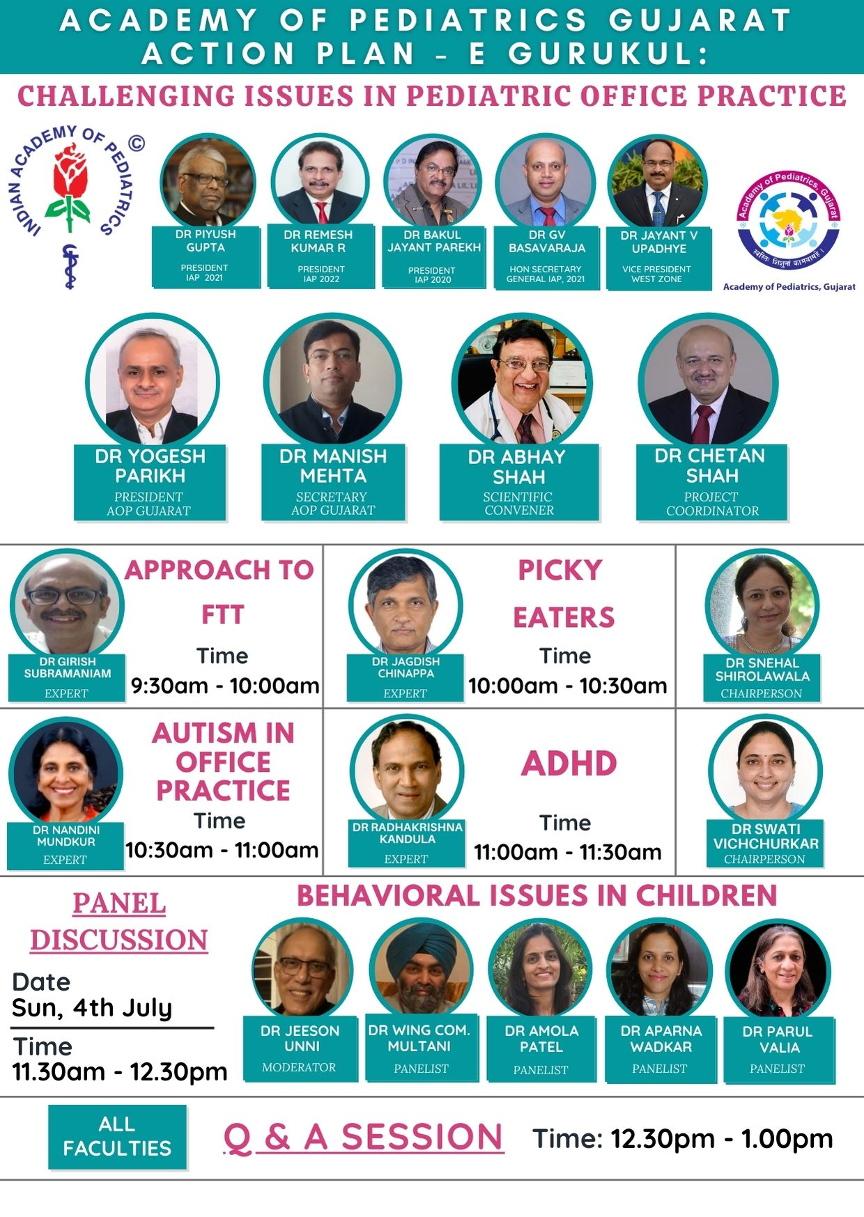 4th-July-AOP-Gujarat-Action-Plan-Challenging-Issues-in-Pediatric-Office-Practice